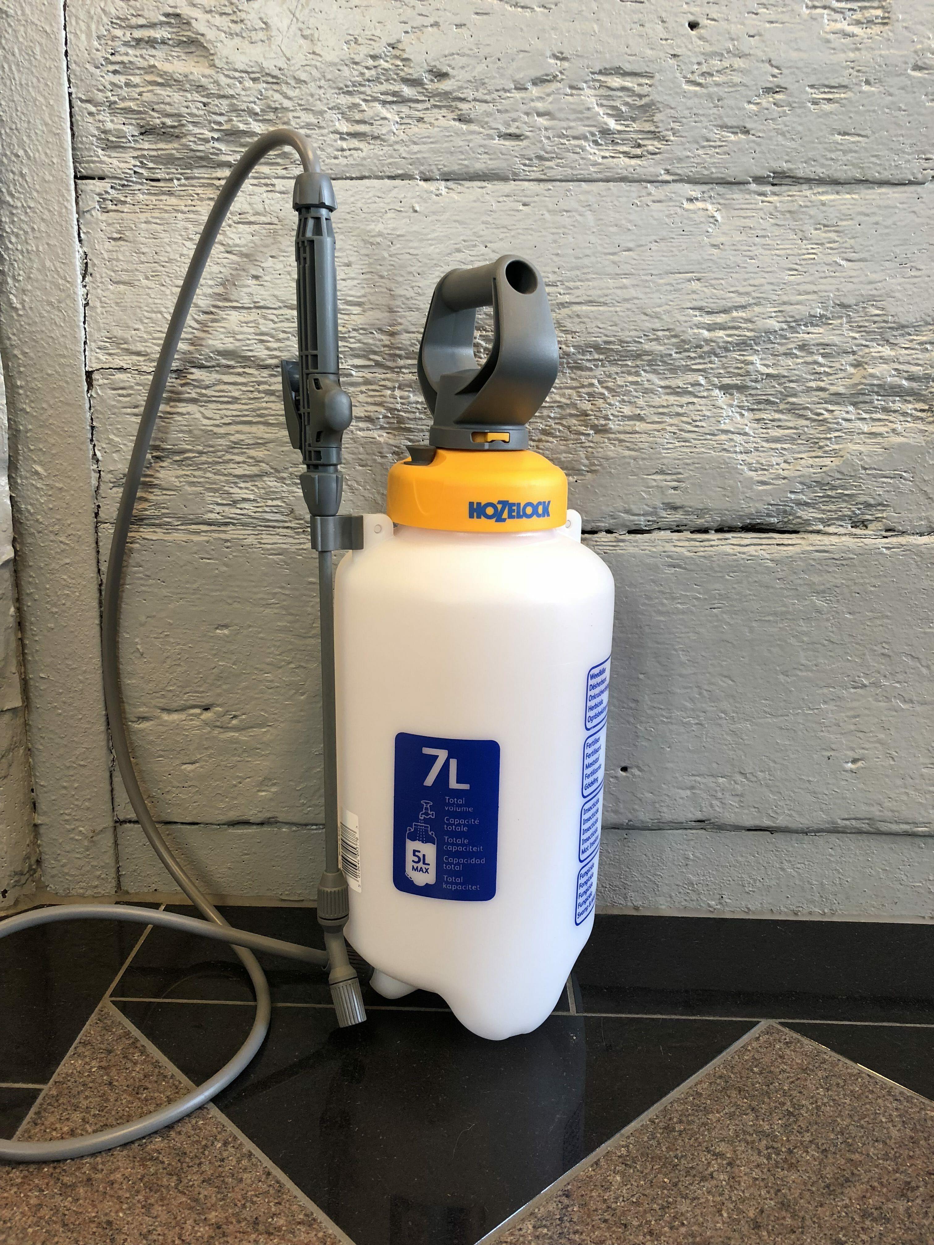Lågtrycksspruta  7 liter