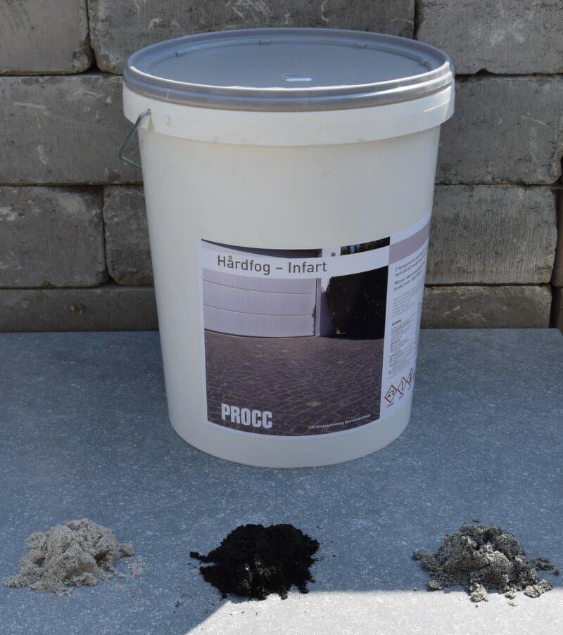 Hårdfog Infart 25kg – basalt